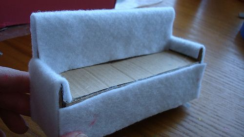 Dollhouse Sofa (mini tutorial) by sparklerama, via Flickr