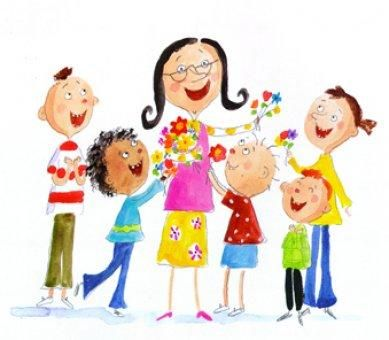 Ozlem Ozcan Klinik On Twitter Teacher Cartoon Painting For Kids Teachers Day