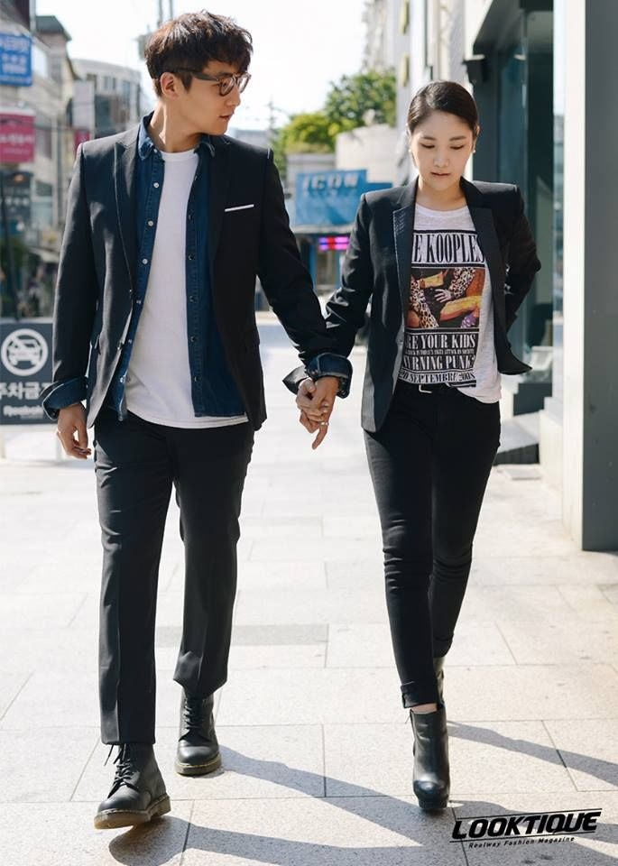 [LOOKTIQUE] Realway Fashion Magazine  |Couple look idea