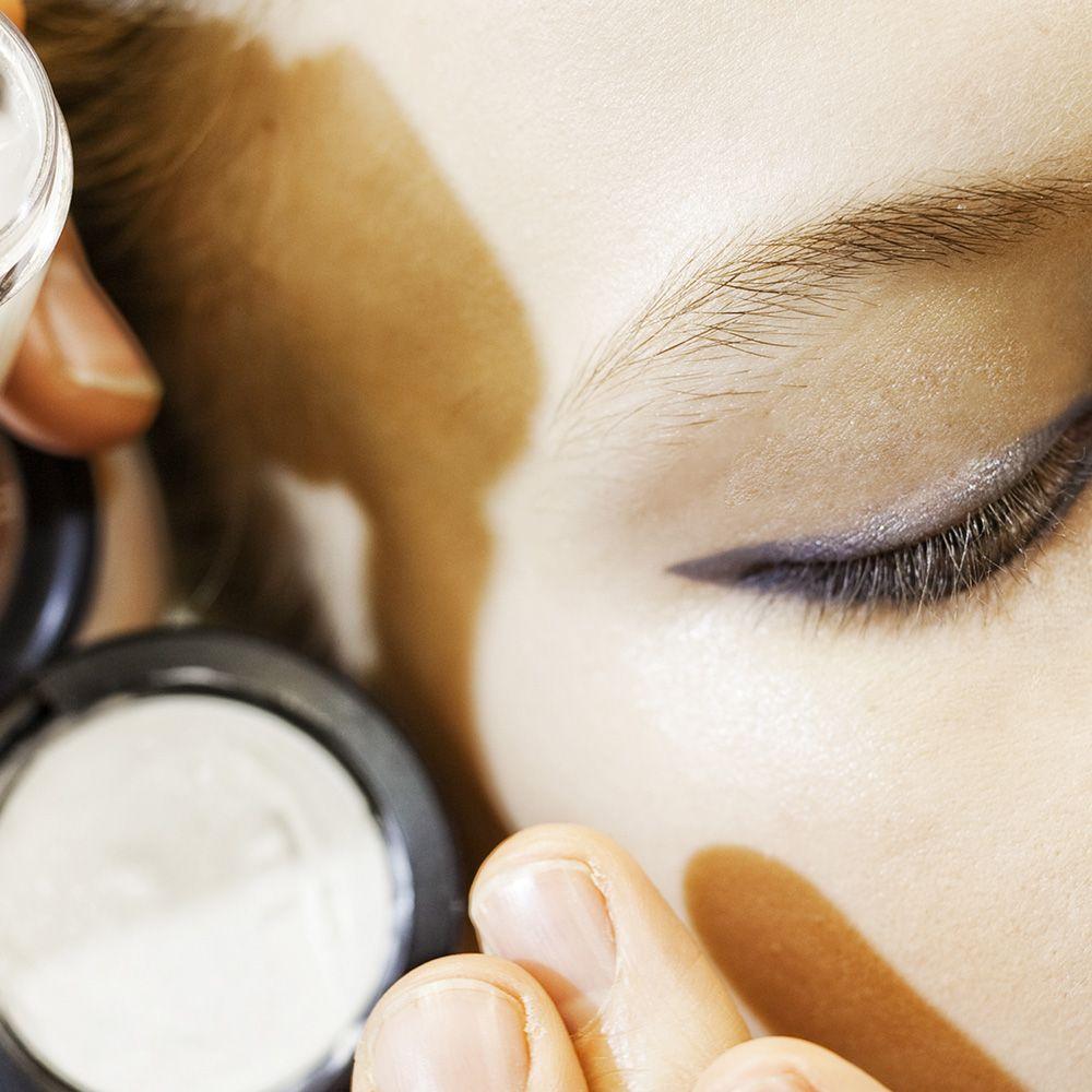 Makeup M∙A∙C dark grey eyeliner + cats eye + winged