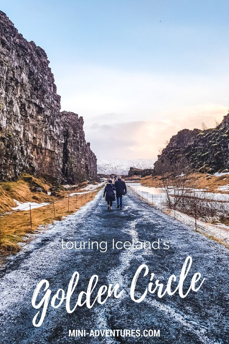 A day on Iceland's roads, touring the famous Golden Circle route.  Things to do in Iceland | Thingvellir National Park | Skalholt Cathedral | Gulfoss waterfall | Iceland in Winter | Solo travel advice in Iceland