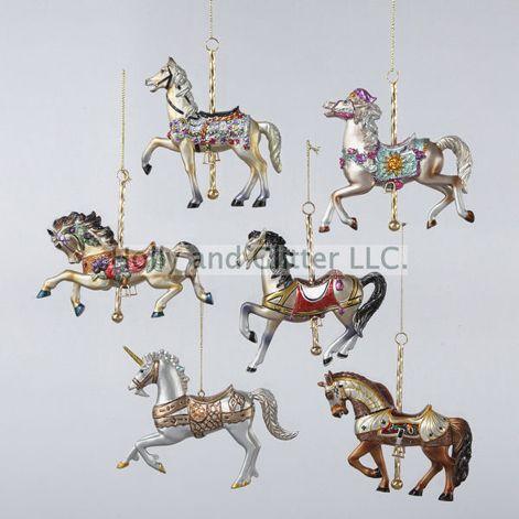 Carousel Horse Ornaments, - Carousel Horse Ornaments, ORNAMENTS Pinterest Ornaments