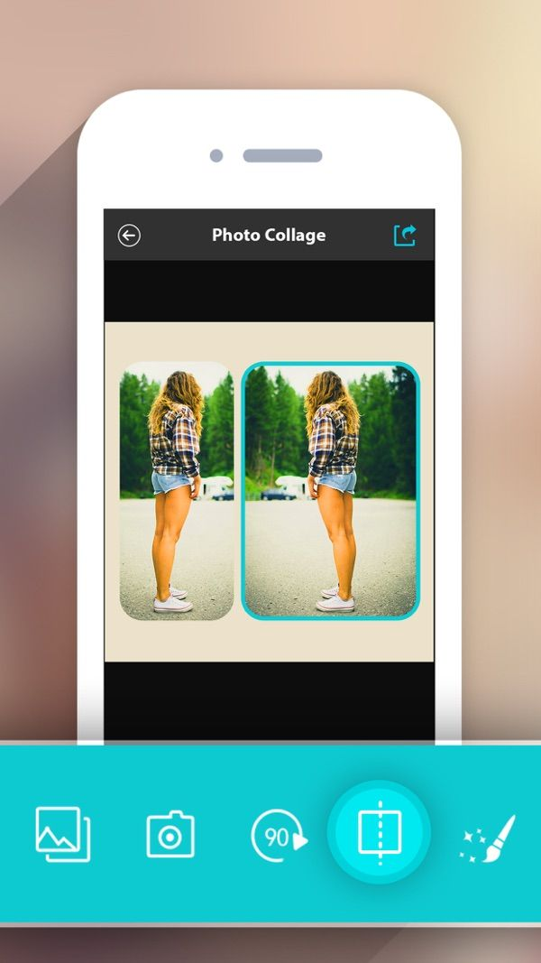 Photo Collage HD Pro Pic Frame Maker Grid Editor on the