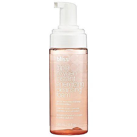 Bliss Triple Oxygen Instant Energizing Cleansing Foam: Face Wash ...