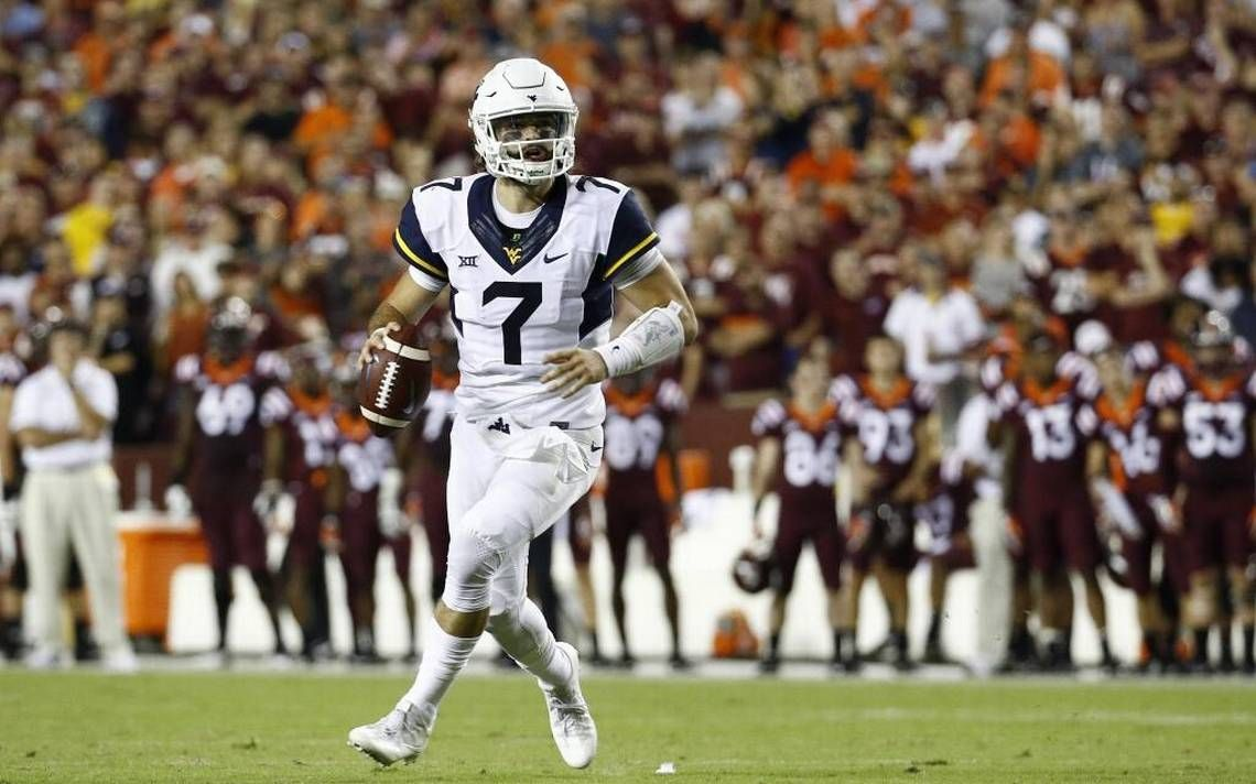West Virginia QB Will Grier shows little rust in comeback