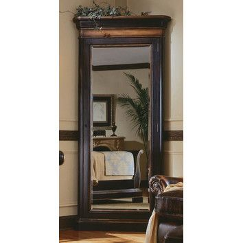 Hooker Furniture Preston Ridge Floor Mirror with Jewelry Storage ...