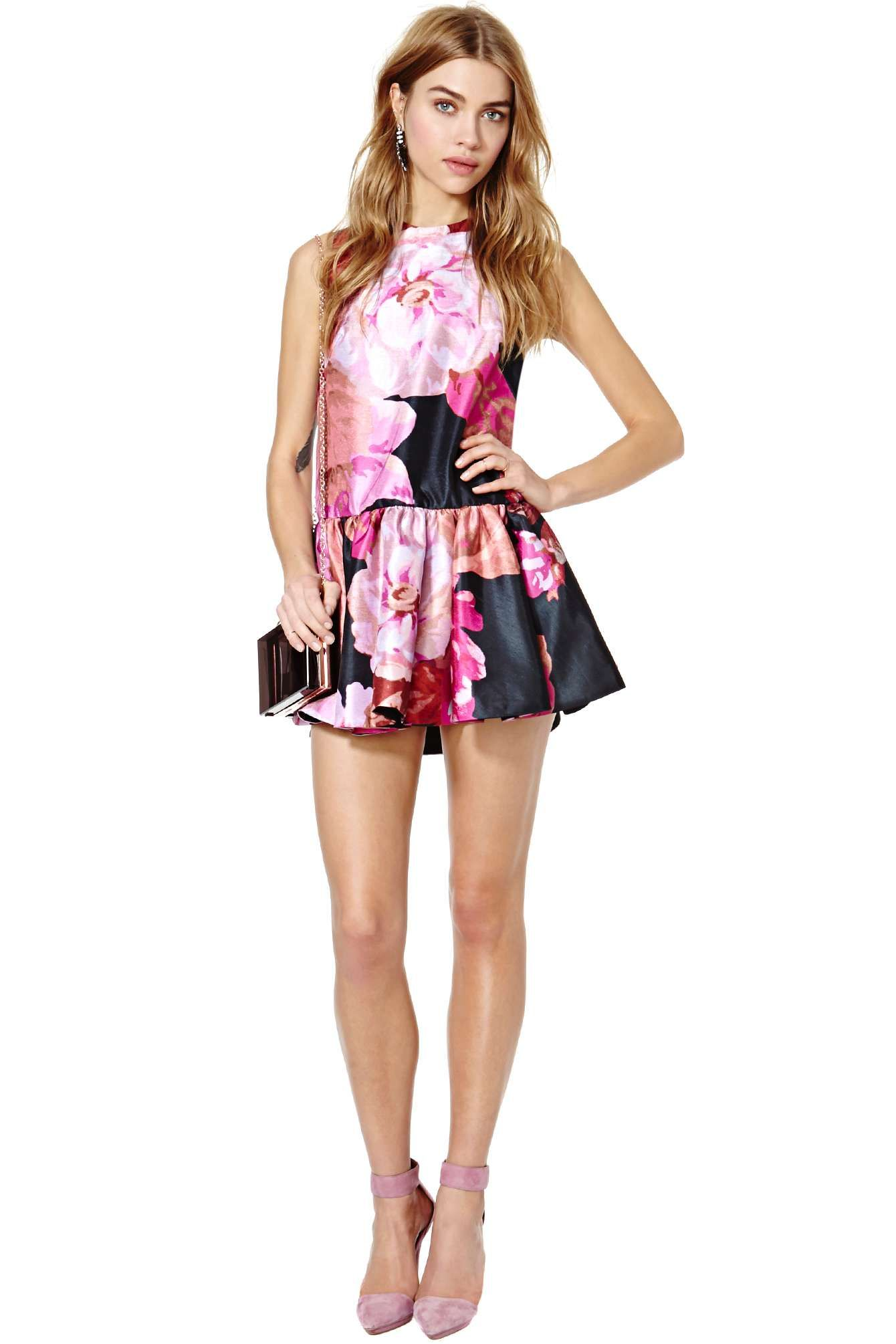 Cameo With Fire Dress | Shop Clothes at Nasty Gal