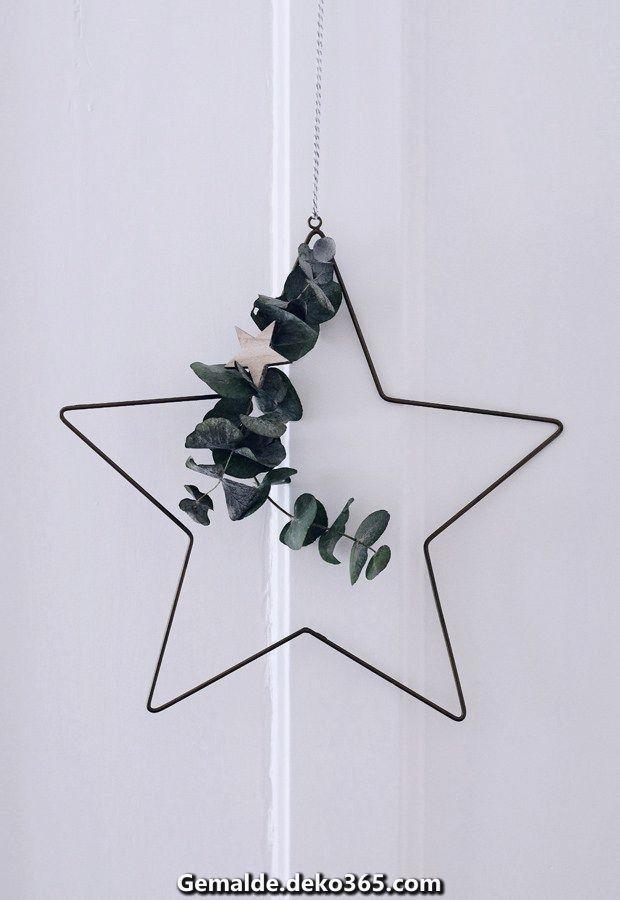 Wunderschöne Nordische Weihnachtsdekorationen mit Rose u. Mausgrau #weihnachtenikea
