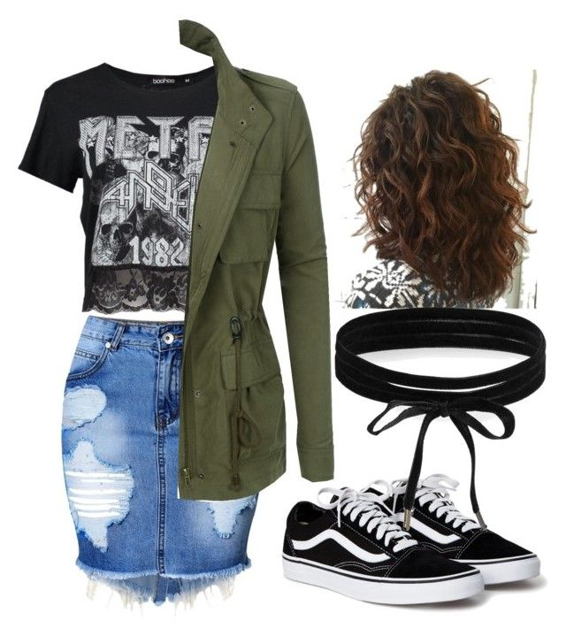 """Untitled #4"" by gwendolyn-dayana on Polyvore featuring Boohoo and LE3NO"