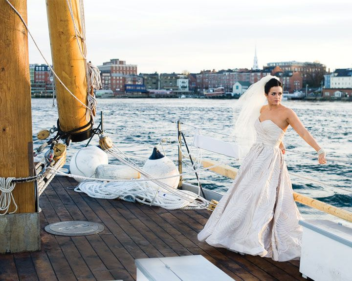 W Too\'s Camilla dress, aboard the Gundalow PISCATAQUA in Portsmouth ...