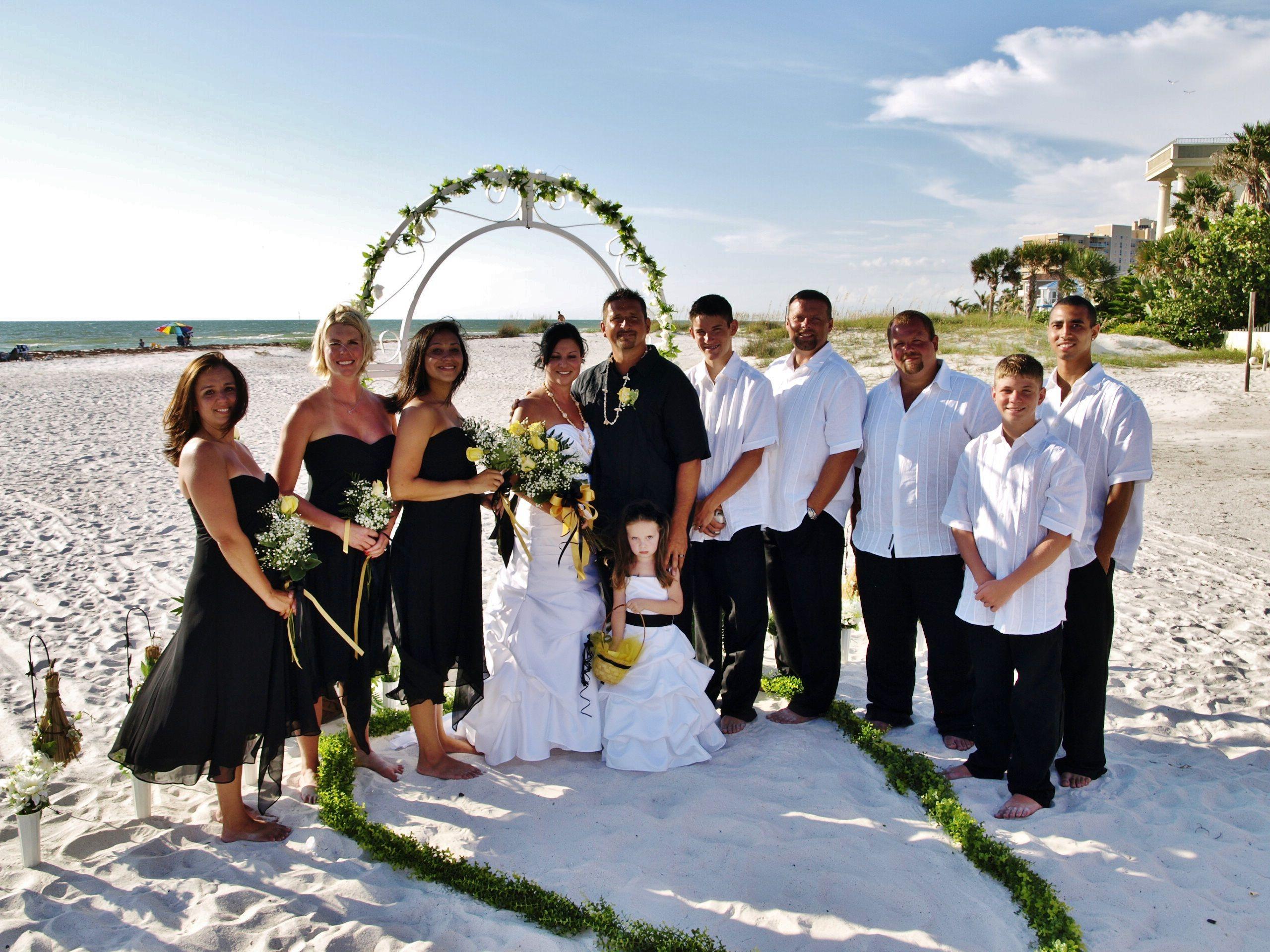 Affordable Beach Weddings Clearwater Fl in 2020 Florida