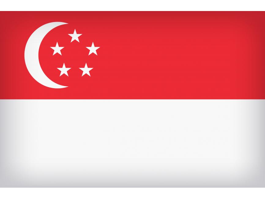 Singapore Large Flag PNG Transparent Image Freepngimage