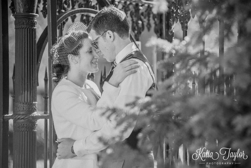 Toronto City Hall Wedding - Bride and Groom at Osgoode Hall for portraitss
