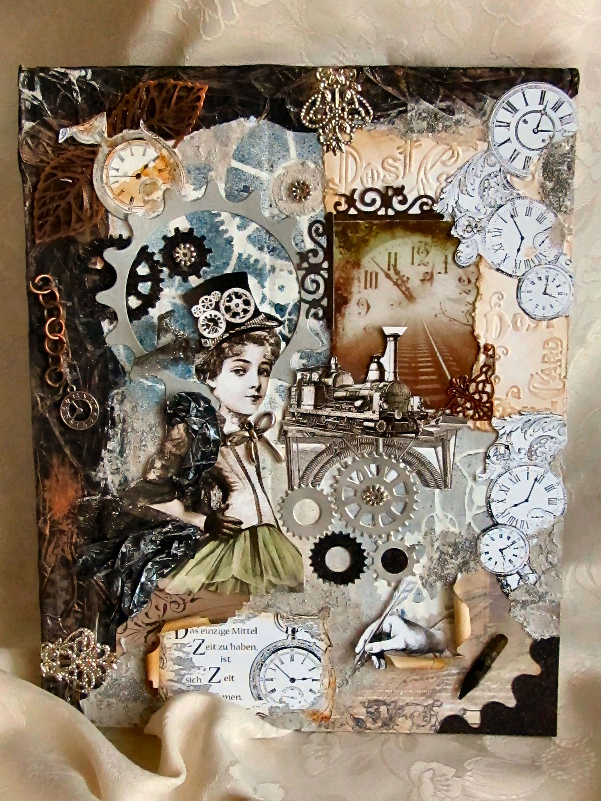 great collage w la blanche stamps la blanche stamps pinterest lablanche kartenkunst und. Black Bedroom Furniture Sets. Home Design Ideas