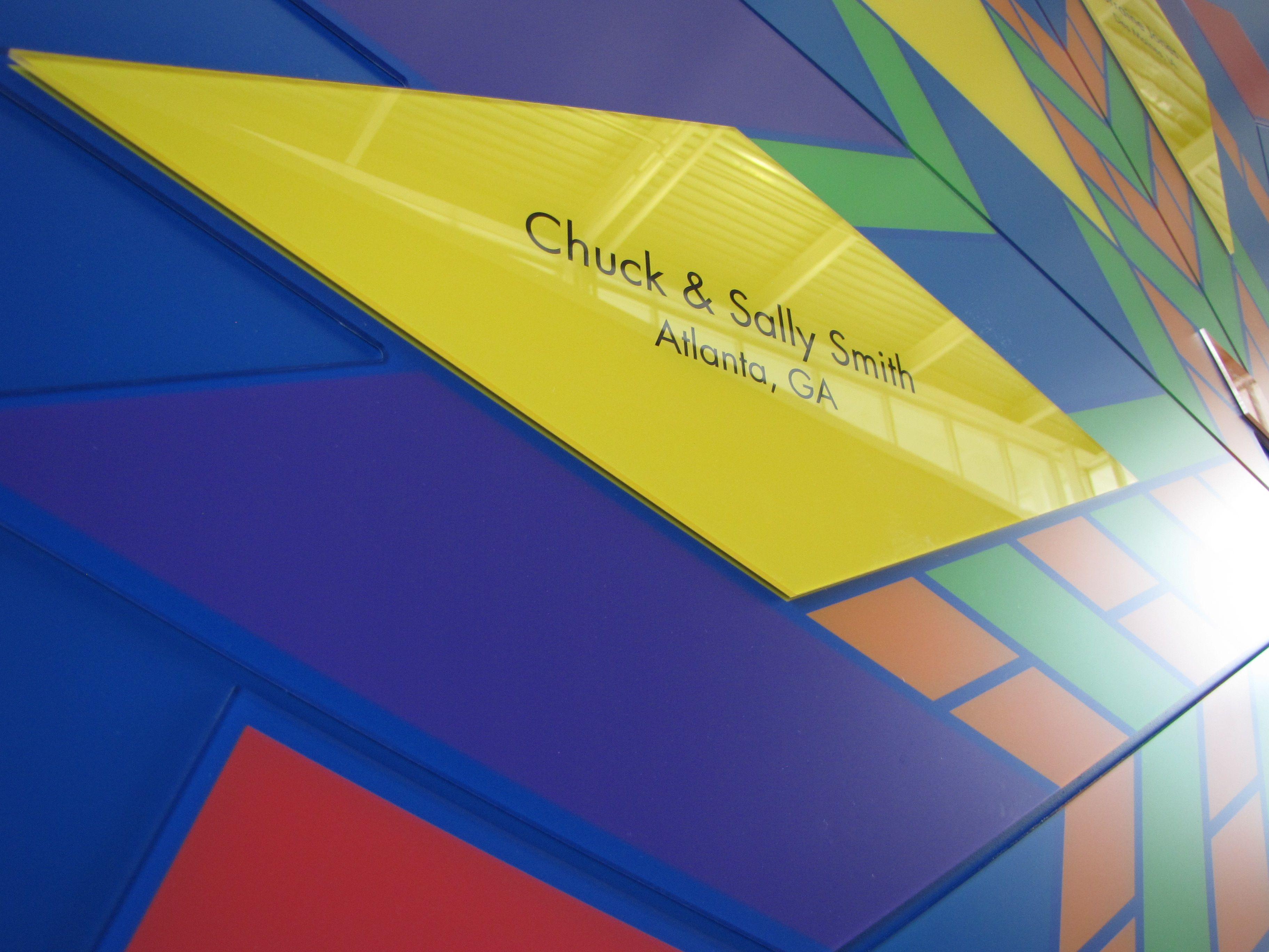 Blue Ribbon Foundation Champion\'s Circle Donor Wall | Donor ...