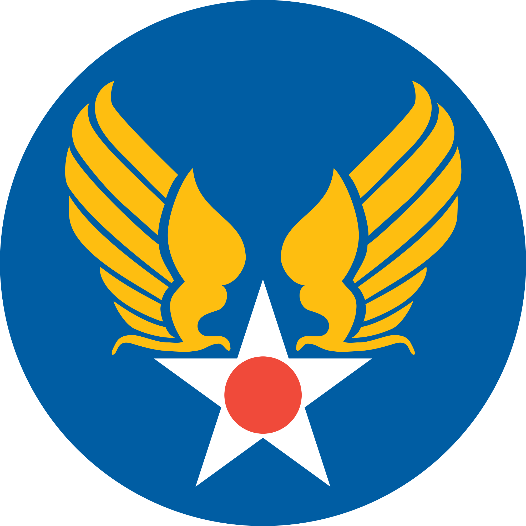 United States Army Air Forces Wikipedia The Free Encyclopedia Air Force Tattoo Army Symbol Air Force Symbol