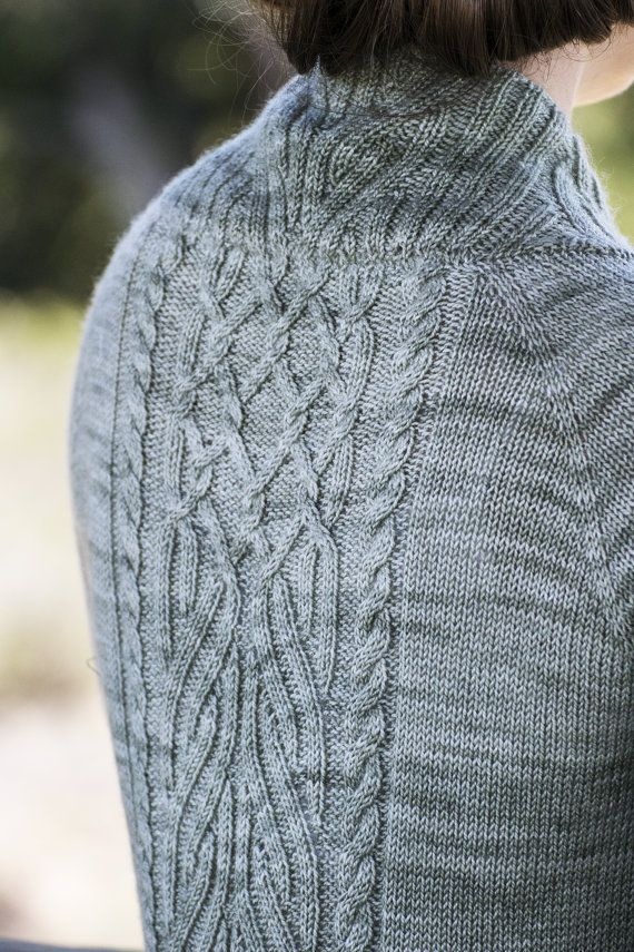 Instant Download Pdf Knitting Pattern For Womens Cable Cables