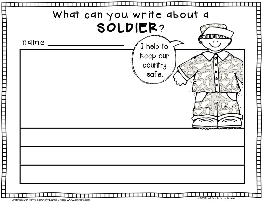 medium resolution of Veterans Day writing. \What can you write about a soldier?\   Veterans day  activities