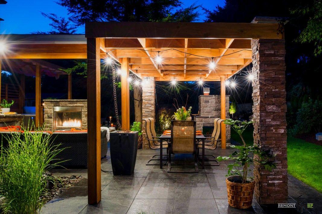 100 идей дизайна для садовой беседки: проекты дачных ...