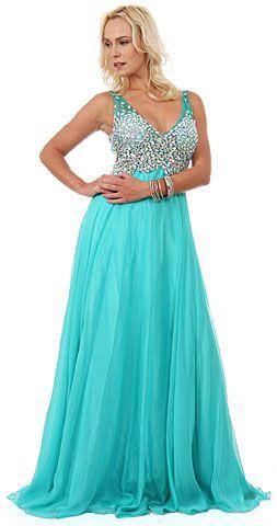 Cheap plus size fancy dresses
