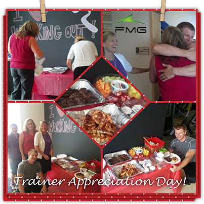 Here Is A Collage Of Anytime Fitness Baraboo S First Ever Trainer Appreciation Day Shown In Anytime Fitness Hard Work And Dedication Personal Fitness Trainer