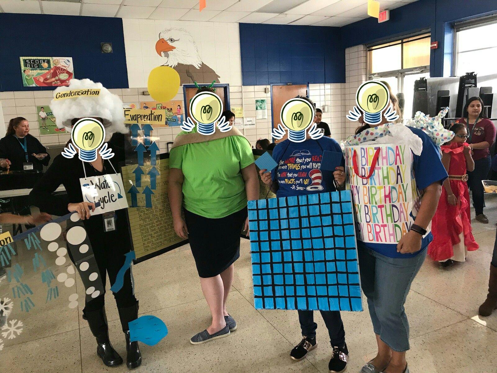 4th Grade Team Teachers Diy Halloween Costumes Science