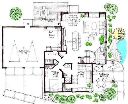 Ultra Modern Home Floor Plans Modern Floor Plans House Layout Plans Ultra Modern Homes