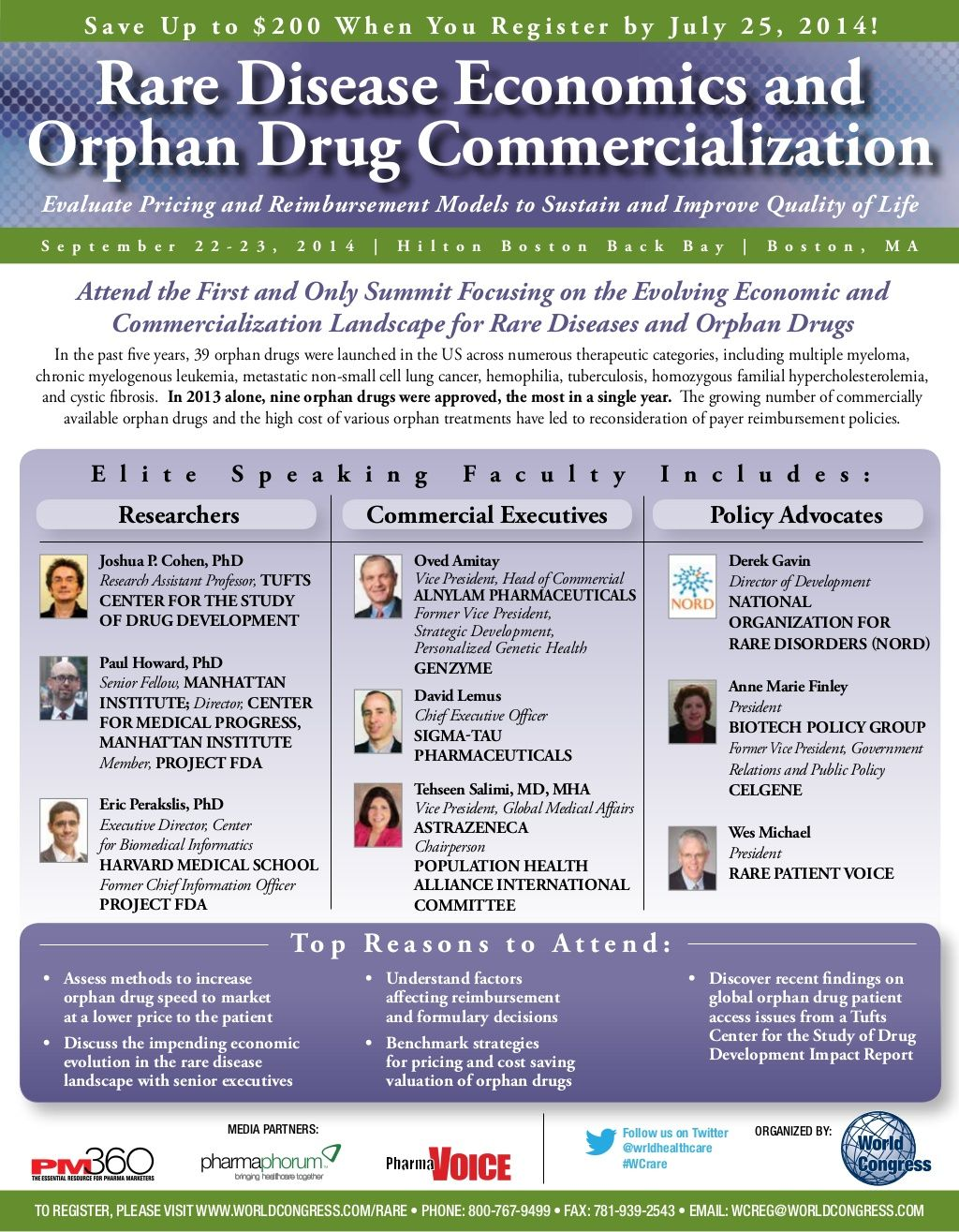 Rare Disease Economics and Orphan Drug Commercialization