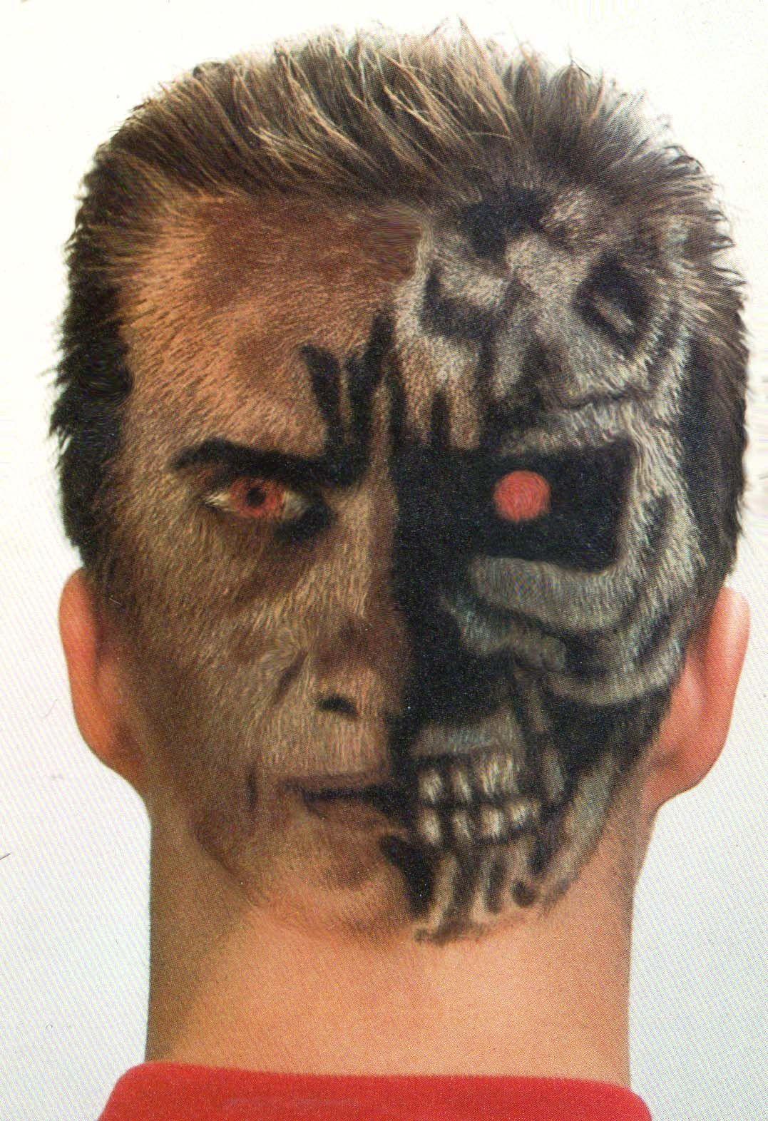 Terminator Hair Art by Colin Watkins Extreme hair, Hair