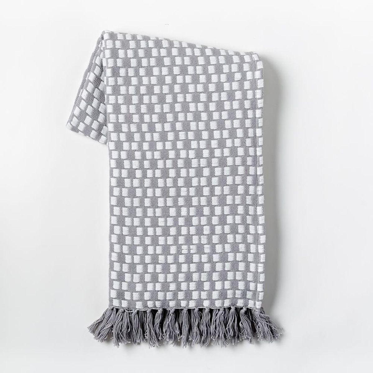 Loose Stitch Woven Throw