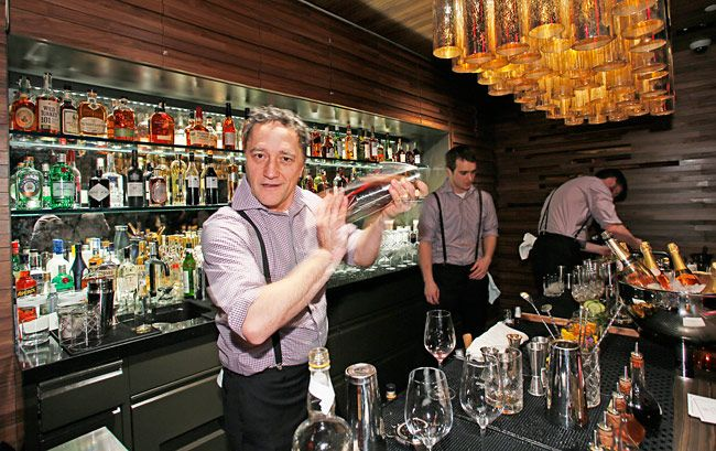 Shake things up for Father's Day at Bar 54 in Times Square (Photo: Stuart Ramson/Hyatt Hotels)