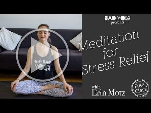 guided bubble meditation free class  bad yogi blog