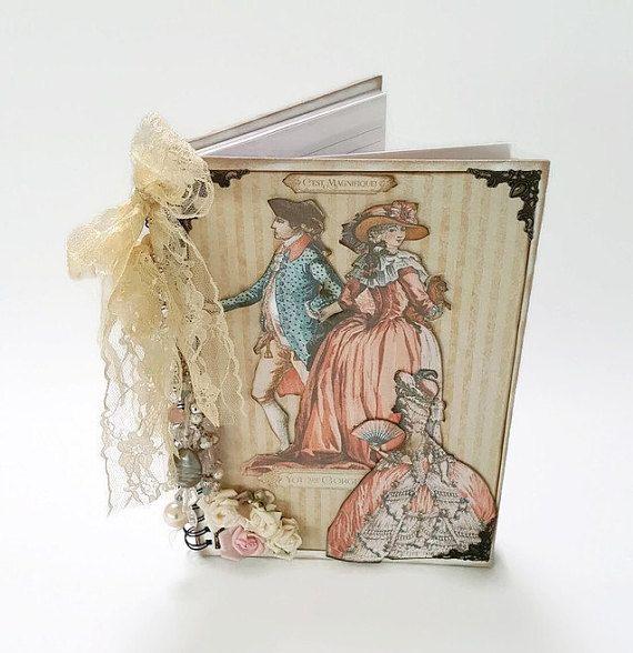 Writing Journal , A4 Journal , A4 Notebook , Bible Journal , Marie Antoinette  , Journal , Journal Notebook , Gift For Her , Spiral Notebook