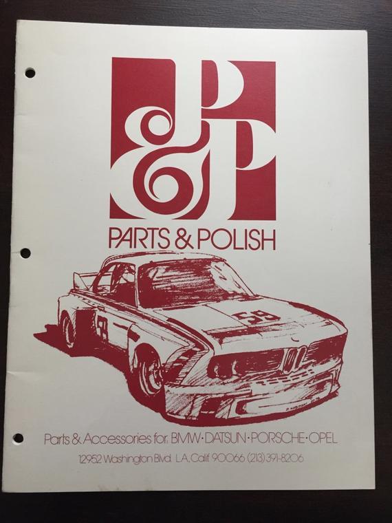 Vintage Race Car Catalog Bmw Datsun Porsche Opel Parts Accessories Rhpinterest: Datsun Parts Catalog At Gmaili.net