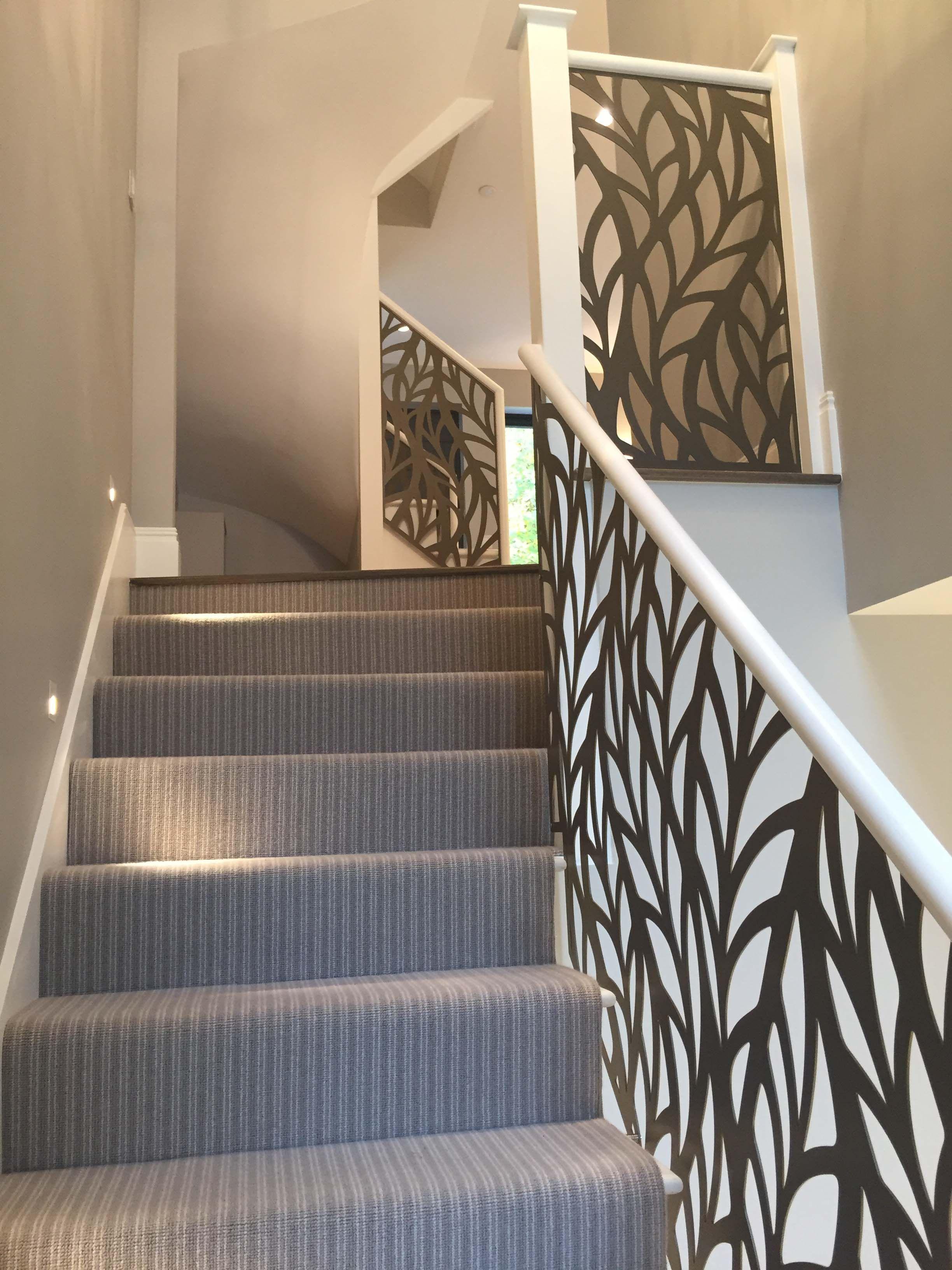 Balcony Design London: Laser Cut Balustrade Infill