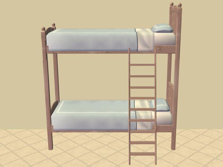 Best Mod The Sims – Basic Bunk Beds Bunk Beds Sims 4 Beds 400 x 300