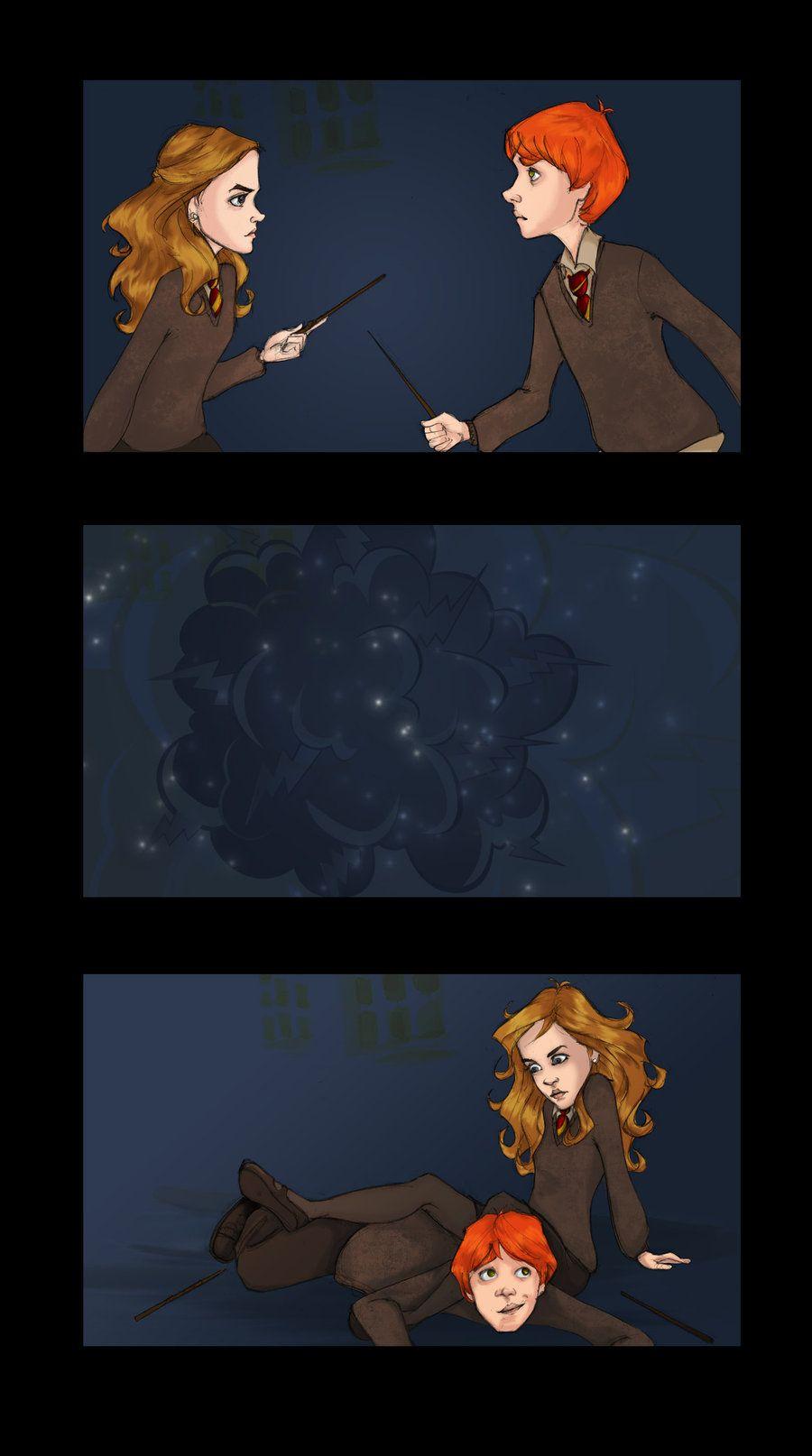 Ron hermione essay