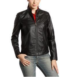 Women's Ferrari Leather Jacket