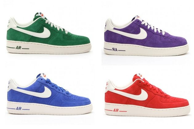 """Nike Air Force 1 Low – """"Blazer pack"""" (Wiosna Lato 2013"""
