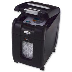 Product 102869, Description: Rexel AutoPlus 200X Shredder Confetti Cut DIN3 P-4 Ref 2103175