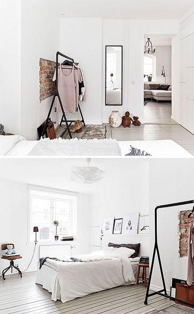 Scandinavian Modern Decor Minimalist Bedroom Pinterest