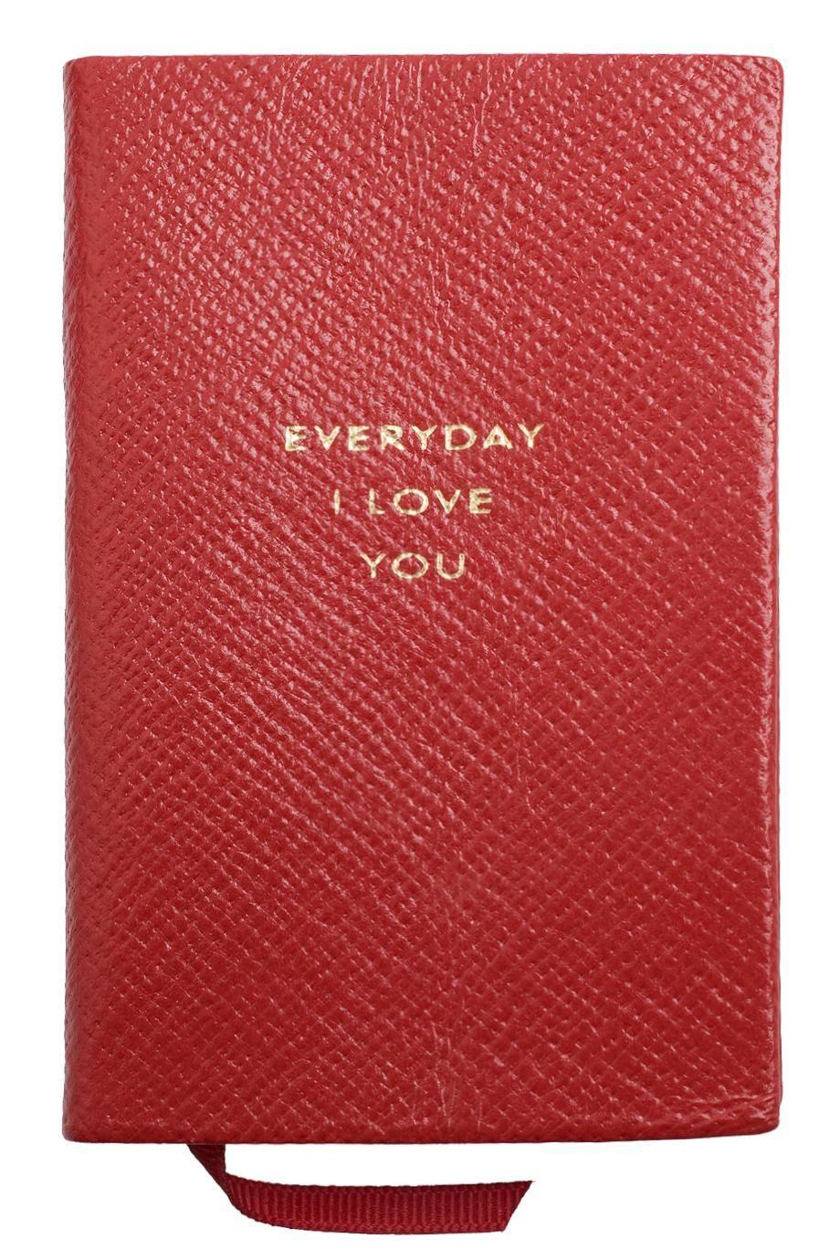 Everyday i love you from smythson be my valentine pinterest