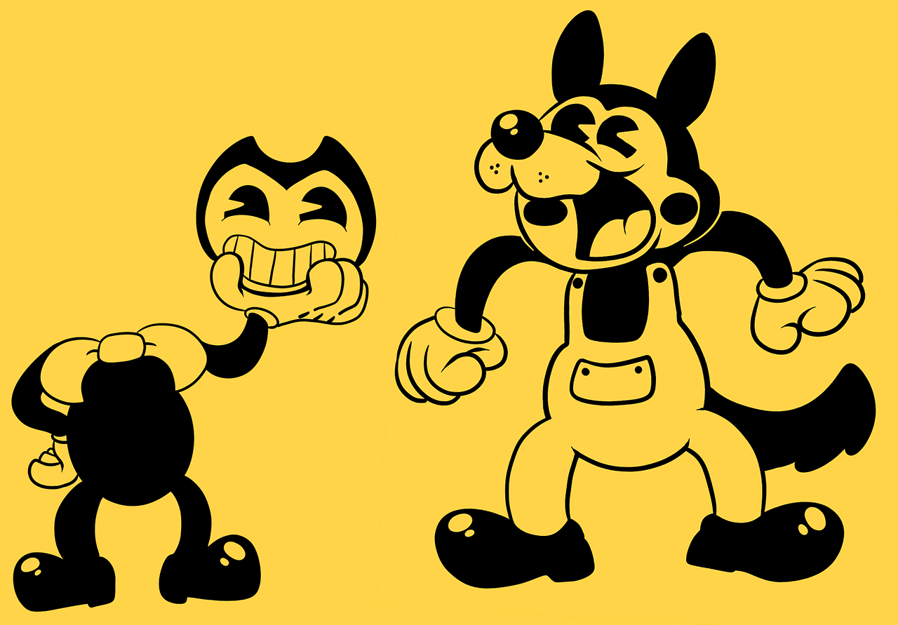 bendy and the ink machine part 2