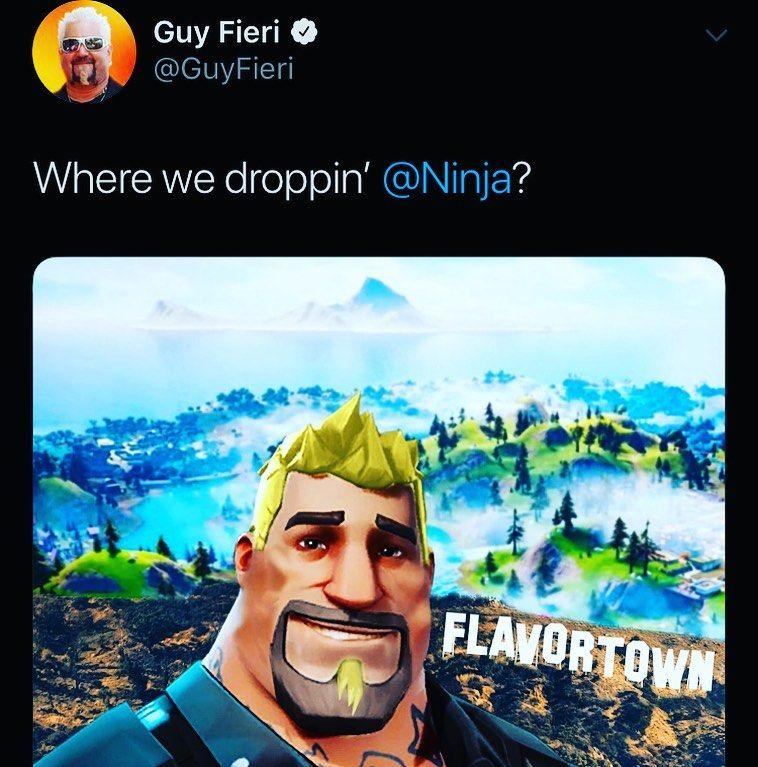Guy Fieri Fortnite