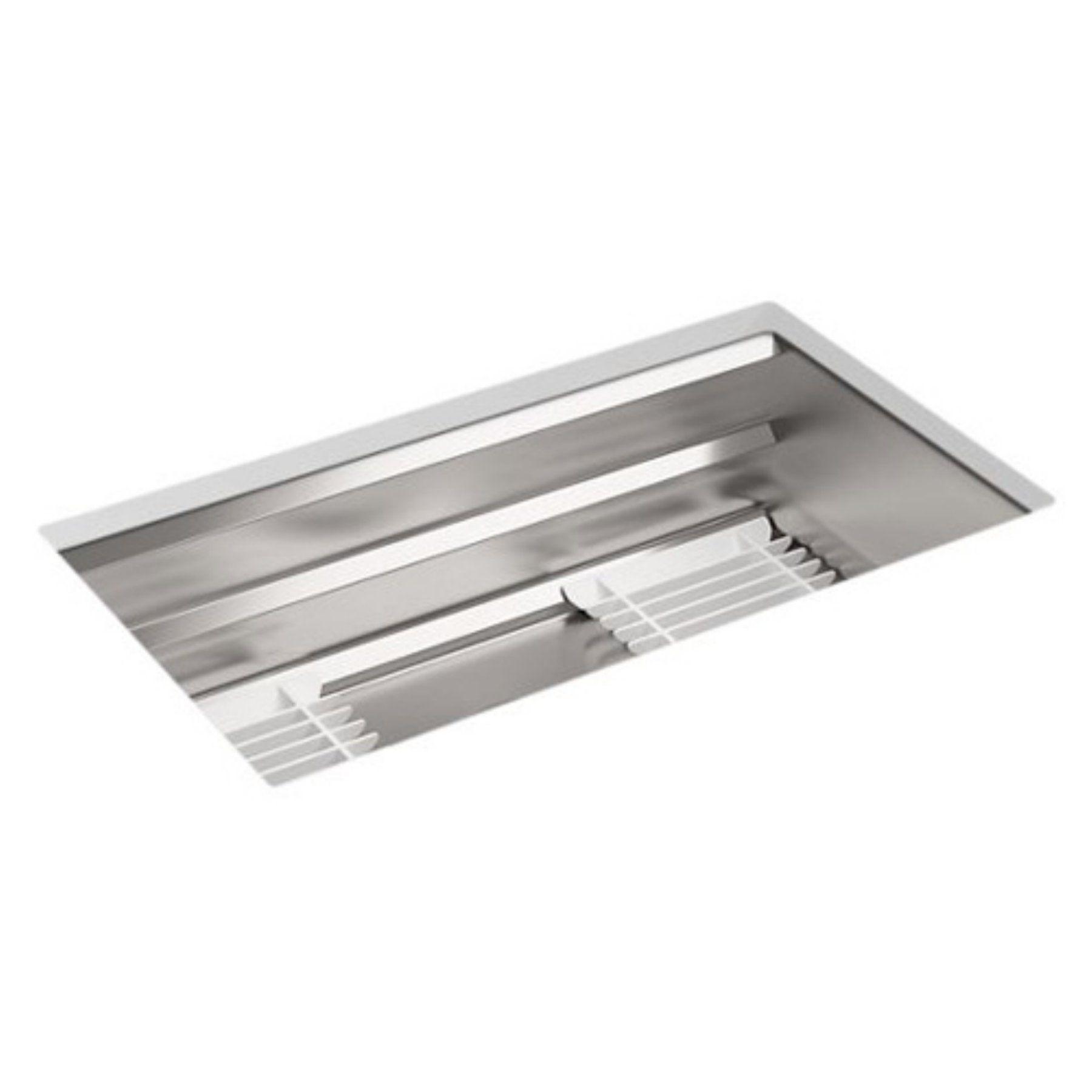 Kohler prolific single basin undermount kitchen sink with