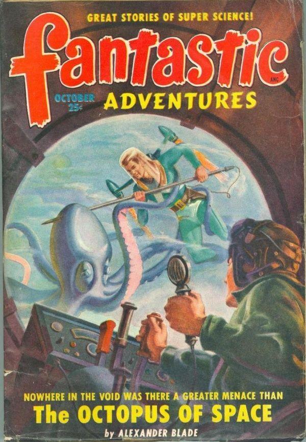 Fantastic Adventures October 1949
