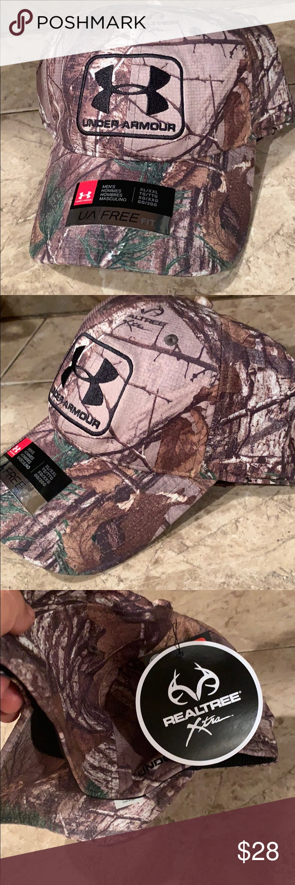 Under Armour Camo Fitted Stretchy Hat Under Armour Camo Under Armour Camo