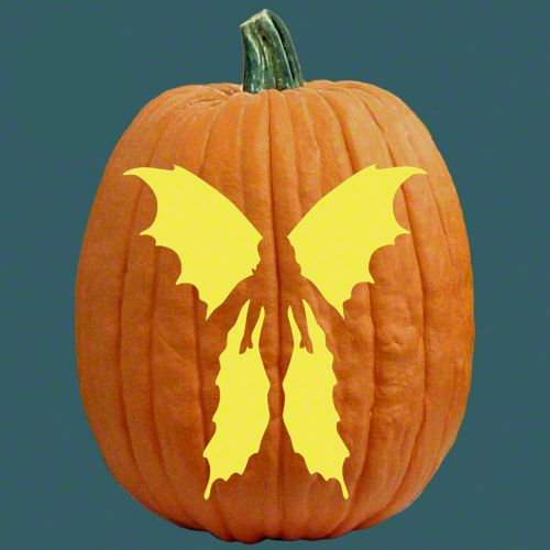 Fairy pumpkins pumpkin carving patterns and free pumpkin for Fairytale pumpkin carving ideas