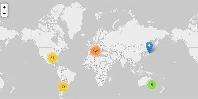 Fuga2: un mapa colaborativo de los investigadores en el extranjero