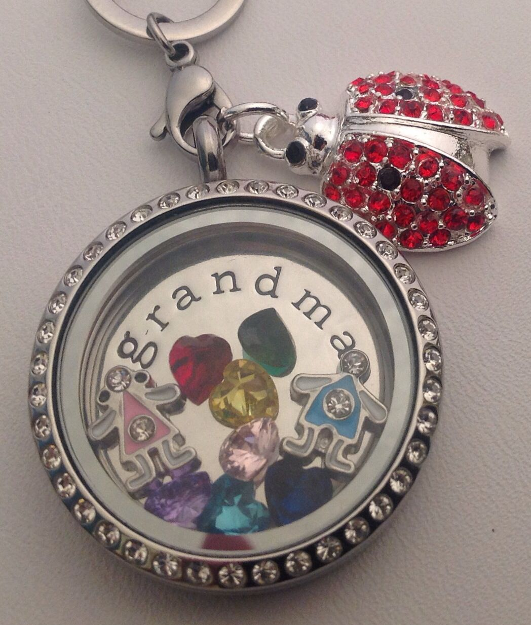 gifts wid silver heart category necklace spinner at sterling grandma personalized things lockets remembered for